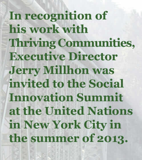 Jerry Millhon invited to Social Innovation Summit at the United Nations
