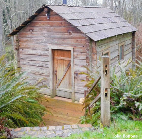 1920's Finnish sauna
