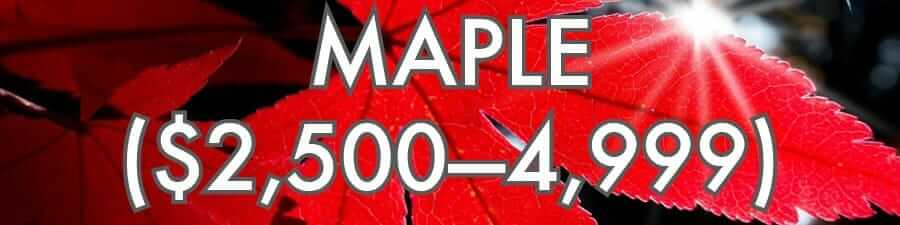 Maple ($2500–4999)